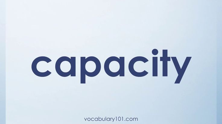 capacity Meaning and Example Sentence   Learn English Vocabulary Word with Definition