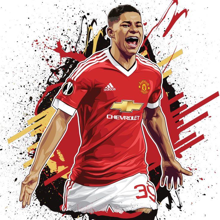 Marcus Rashford Design Just Finished #MUFC what you think? Custom-Print-Design PukkaPrintGifts.co.uk