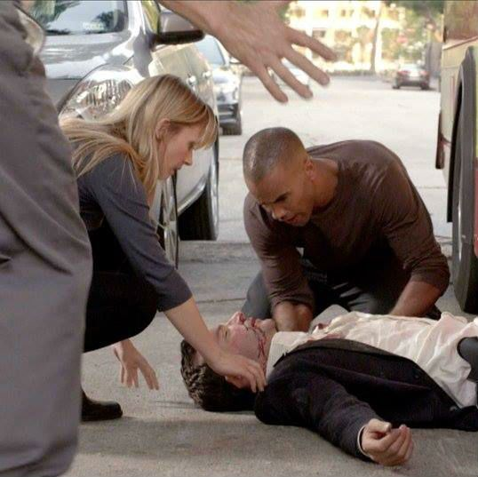 JJ And Morgan Tend To A Fallen Victim Who Happens To Be