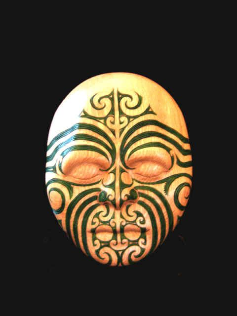 Maori mask new zealand art i love z pinterest