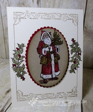 Stamp & Scrap with Frenchie: Father Christmas Class in the mail How to color…