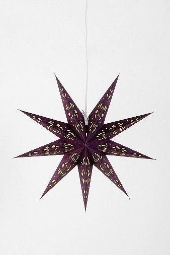 Paper Star Lantern-Purple