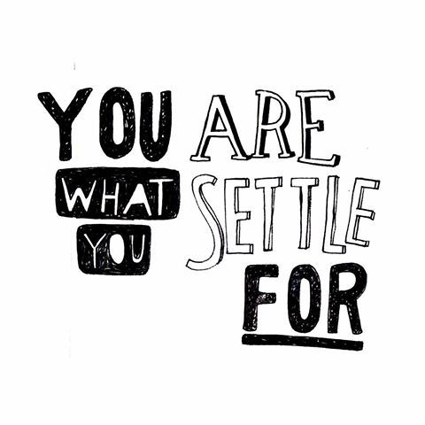 🙌🏻 #youarewhatyousettlefor #think #janisjoplin #wise #wisewords #ambition #creative #create #illustration #illustrate #draw #drawing #ink #type #typography #handdrawn #font #letters #blackandwhite #berlin #kreuzberg