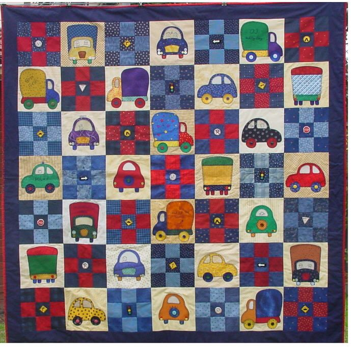 Quilt Patterns For Sports : 17+ best images about train quilt on Pinterest Virginia, Cars and Kid quilts