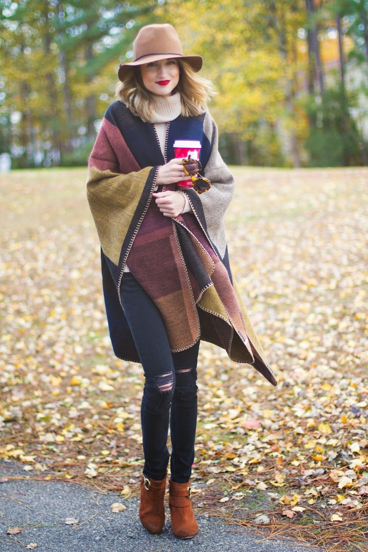 Layer a cozy blanket scarf & turtleneck sweater | Little Blonde Book by Taylor Morgan | A Life and Style Blog