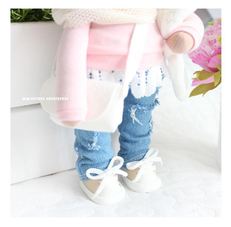 куколка из видео курса Sweet baby bjorn eva-dolls.com