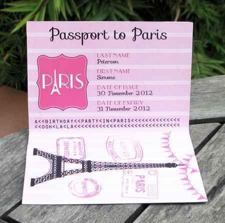 decoracion de invitacion de 15 años de paris (9)