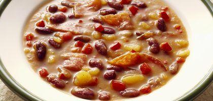 Cómo cocinar frijoles en una olla de cocción lenta | eHow en Español