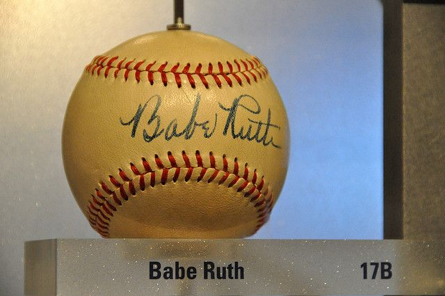 Babe Ruth Autographed Baseball | Babe Ruth Autographed Baseball | Flickr - Photo Sharing!