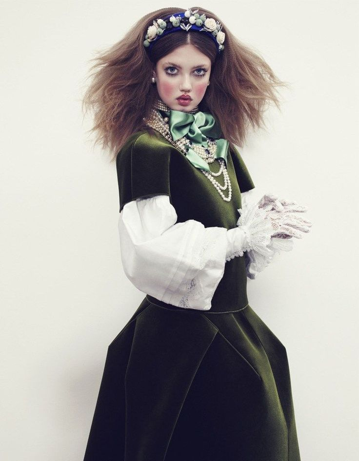 'The Anastasia of Winter' Lindsey Wixson by Emma Summerton for Vogue Japan