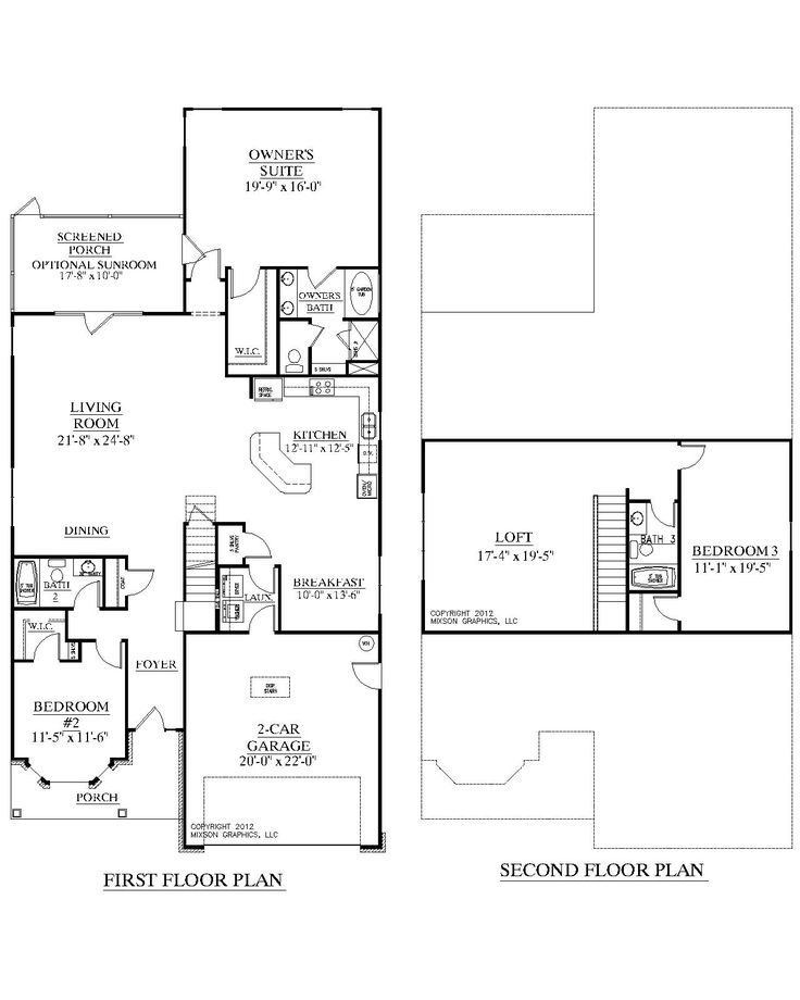 House Plan Azalea Floor Plan Traditional Story House