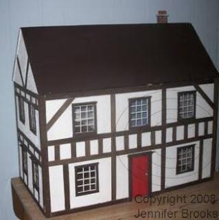 Free cardboard dollhouse plans woodworking projects plans for Dollhouse building plans free