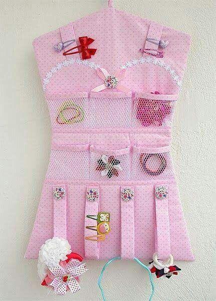 Bolsillos para guardar accesorios