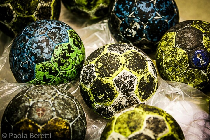 That's what a handball needs to look like after playing with it *-*