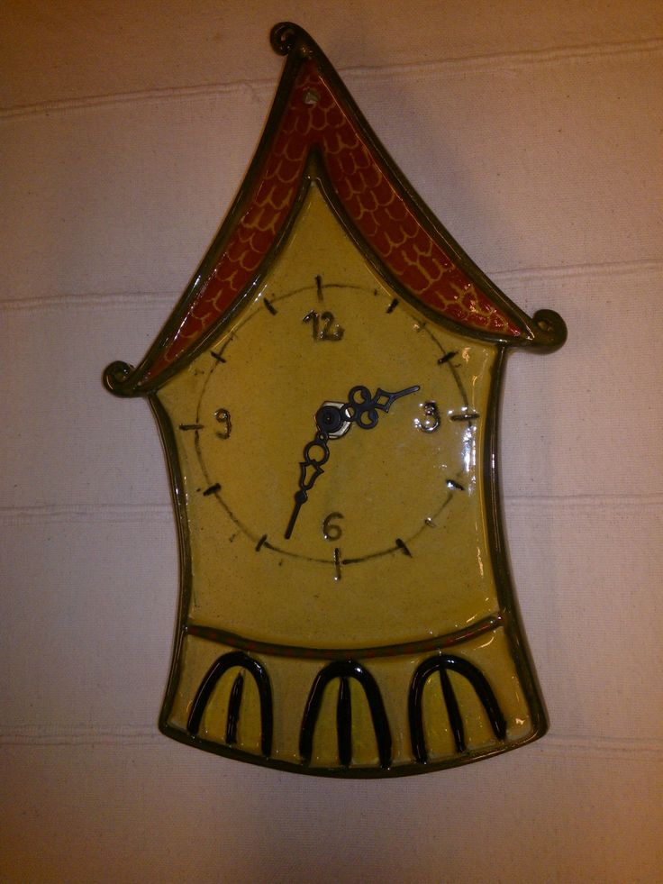 Meseváros fali óra / Wall clock from Tale City
