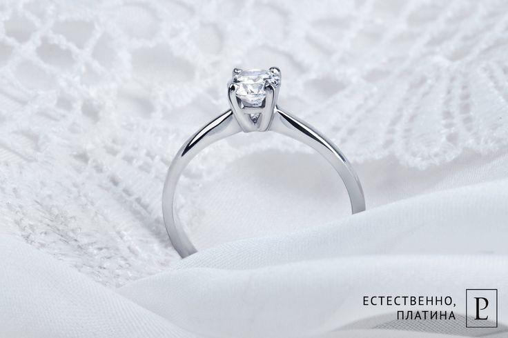 Безупречное кольцо с бриллиантом из платины для Вашей возлюбленной. #PlatinumLab #помолвочныекольца_PlatinumLab #кольцо #кольцосбриллиантом #помолвочноекольцо #rings #ювелирныеукрашения