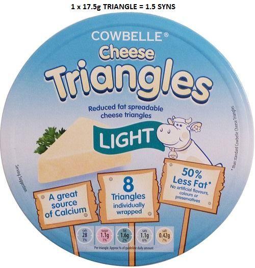 Aldi Cheese Triangles