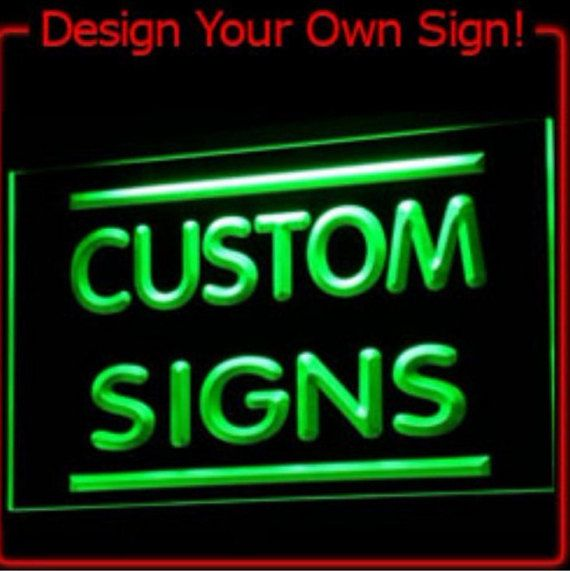 Custom Neon Signs, LED Sign, Neon Open Sign, Neon Bar Sign, Neon Light Up Letters, Man Cave Item Furniture Man Cave Idea Game Room Furniture