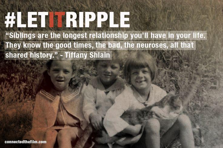 Siblings in our life