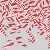 Candy Canes Shaped Confetti $5.95  20060139