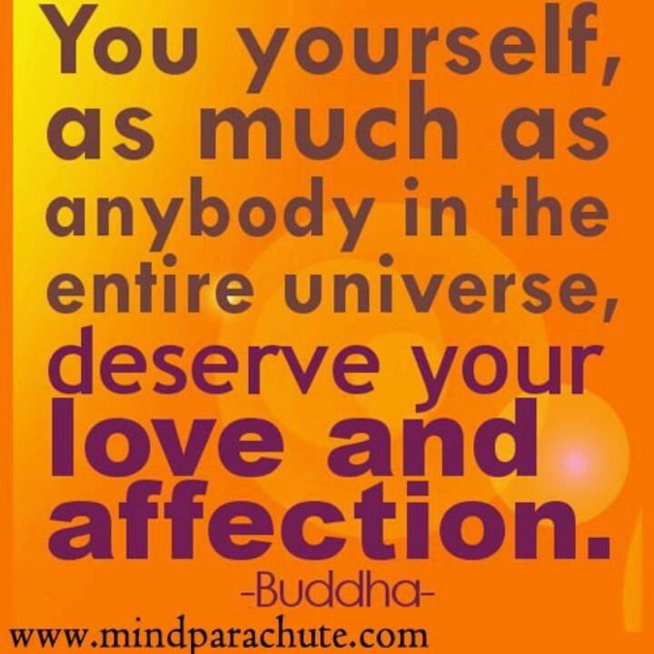 Love oneself!