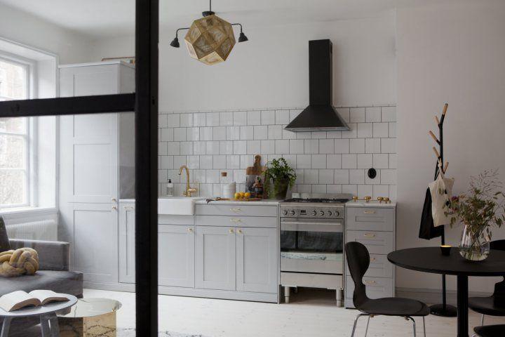 Post: Reforma de un piso 36 m² en Malmö, Suecia --> blog decoración nórdica, deco pisos suecos, decoración interiores, decoración pisos pequeños, intimidad decoración, minipisos interiores, pared de cristal, Reforma de un piso 36 m² en Malmö