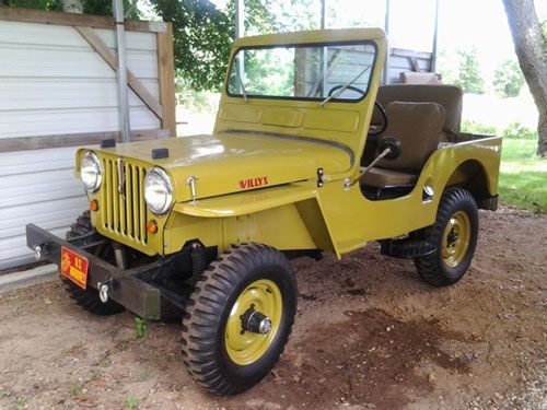 Willys CJ-3A - Photo submitted by Teresa Dickerson.