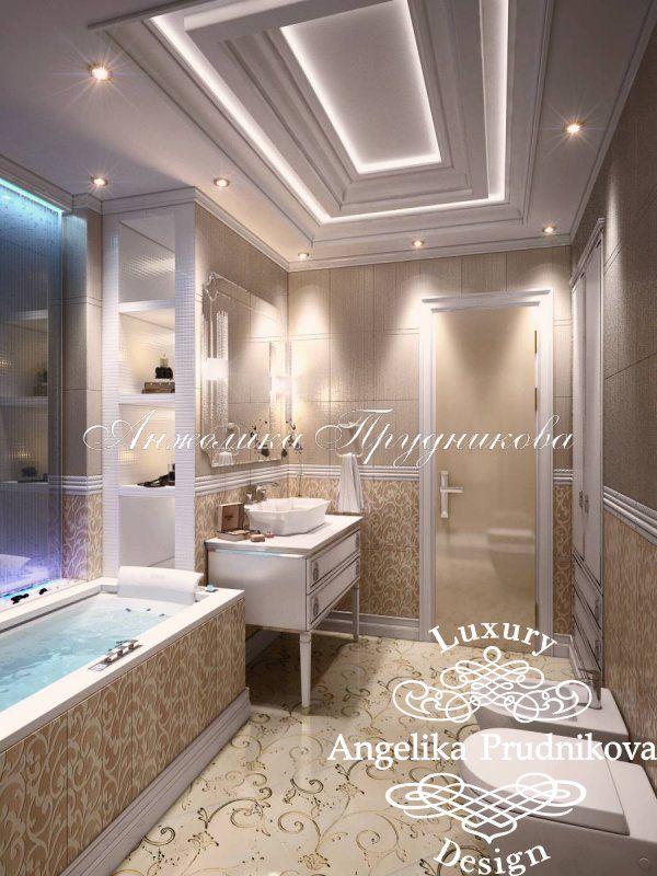 Интерьер квартиры в классическом стиле в ЖК Дубровка - фото