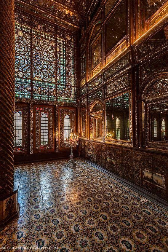 This one's my favourite! Almas building / Golestan palace / Tehran #Iran