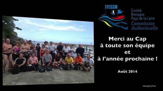 """Clip réalisé à 8 mains avec les images de tous les participants au stage régional photo vidéo 2014 au Cap Trébeurden dans un ambiance """"HAPPY"""""""