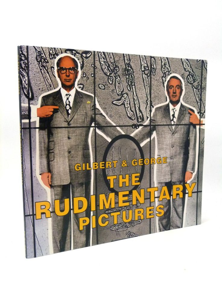 The Rudimentary Pictures (Signed by Gilbert and George)