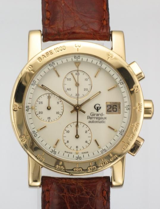 #18k #gold #girardperraux #watch  http://www.attenboroughjewellers.co.uk/products/213/MENS-18CT-GOLD-GIRARD-PERREGAUX-GP7000-CHRONOGRAPH-WATCH.htm