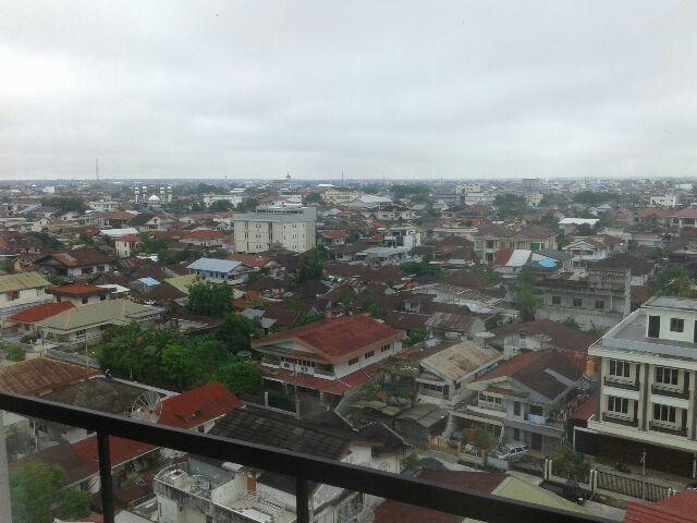 View  from 7th. floor Golden Tulip Hotel, Pontianak