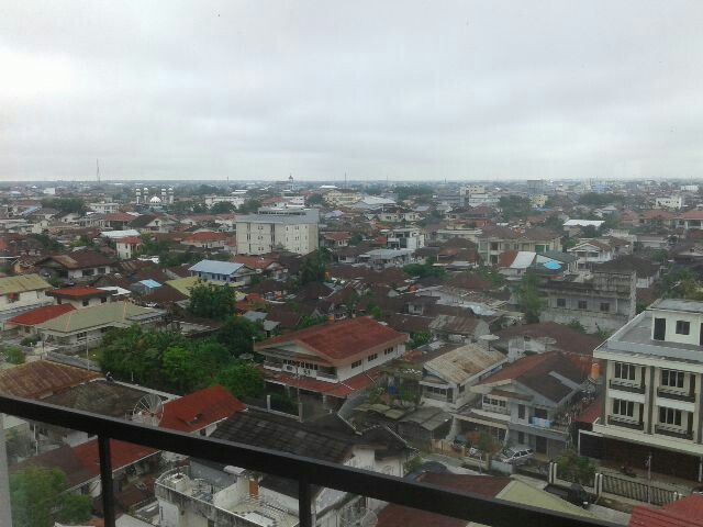 View from 7th floor @Golden Tulip Pontianak