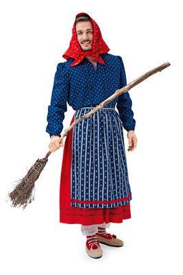 burda style, Schnittmuster für Halloween - Traditionelles Hexenkostüm sowohl für Damen als auch für Herren
