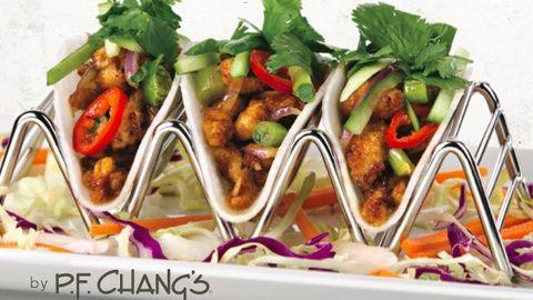P.F. Chang's Chicken Jicama Tacos Recipe ( not a copycat)