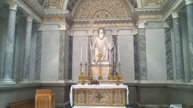 San Benedetto, Basilica di San Paolo, #Roma