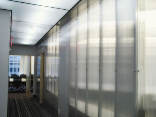 Polycarbonate Wall Architecture Small Spaces