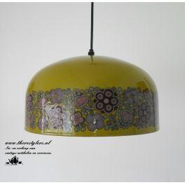 Fog en Morup emaille hanglamp ontwerp Kaj Franck