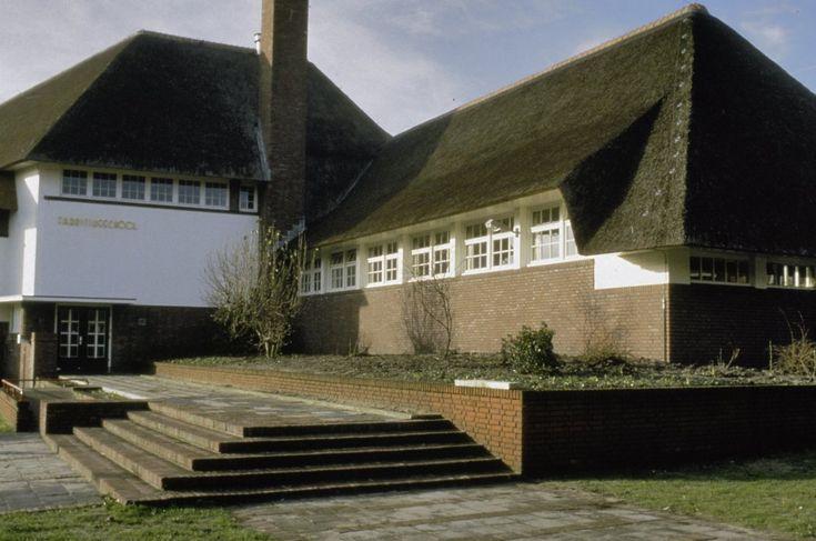 Fabritiusschool in Hilversum, Nederland, Dudoc, 1926