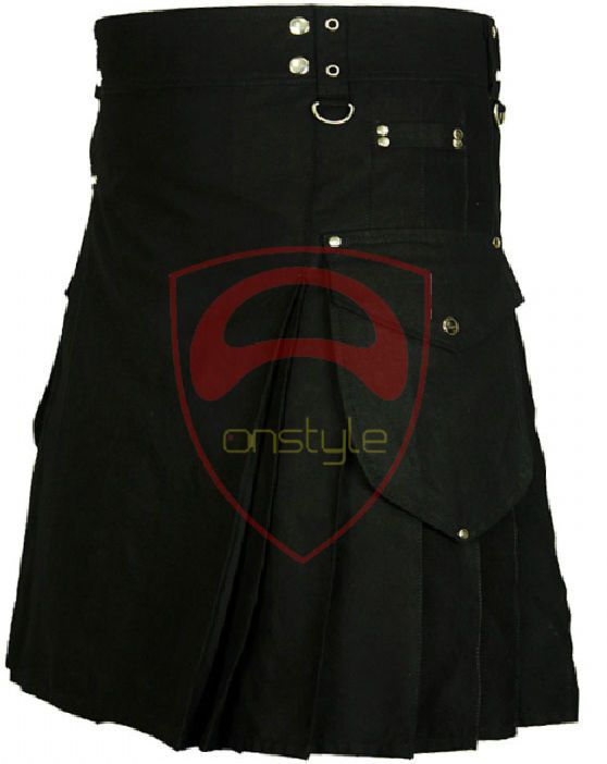 Scottish Onstyle Active Men Utility Sports Traditional Fashion Cotton kilt  #Onstyle #Kilt