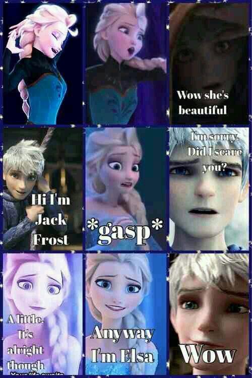 I Love Jelsa Elsa And Jack Jelsa Disney