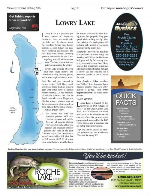 Photo thumbnail: Lake of the Day July 7: Lowry Lake, BC
