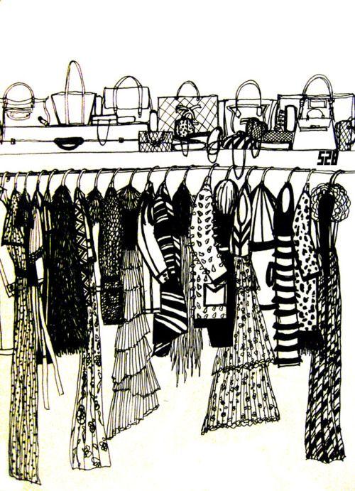 I wish my closet was this organized.: