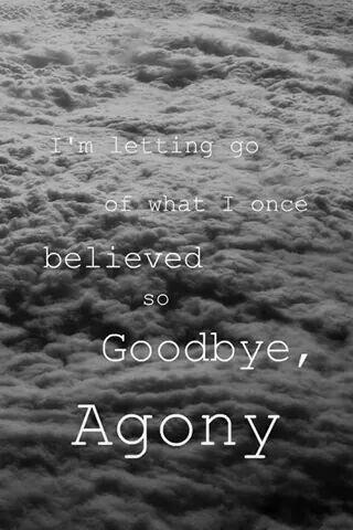Goodbye Agony
