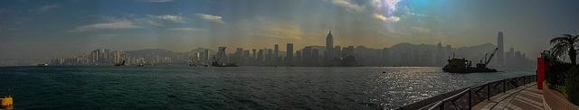 Hong Kong Panaroma, via Flickr.