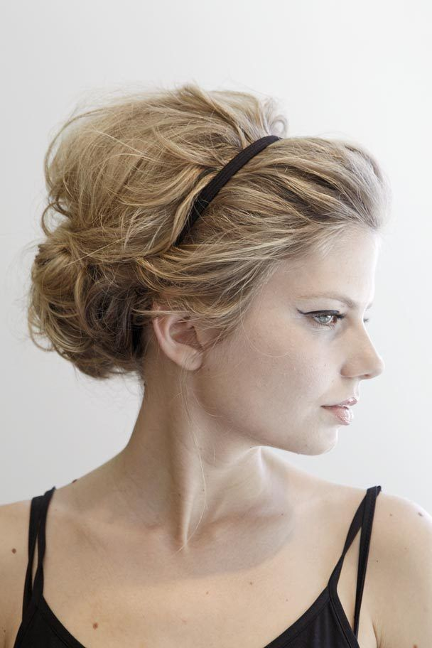 Good #up-do for dry #shampoo days #inspirations #updo #hair #stylenoted