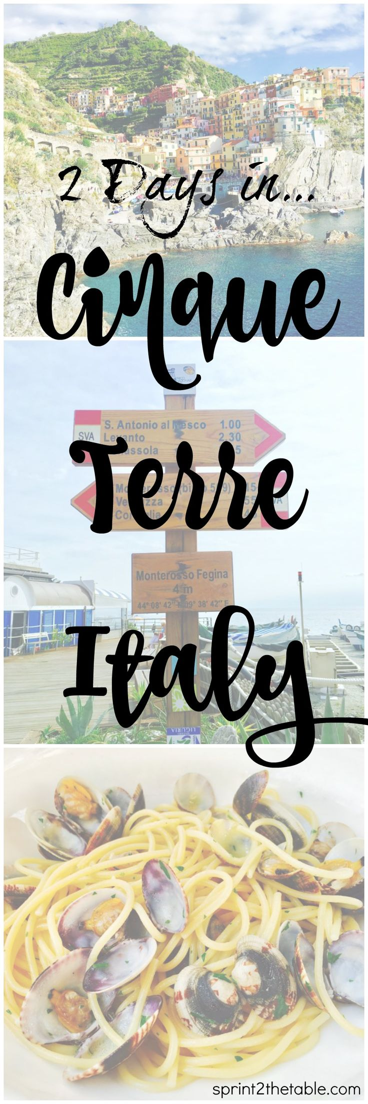 How to spend the perfect 2 days exploring, hiking, and eating your way through Cinque Terre, Italy!