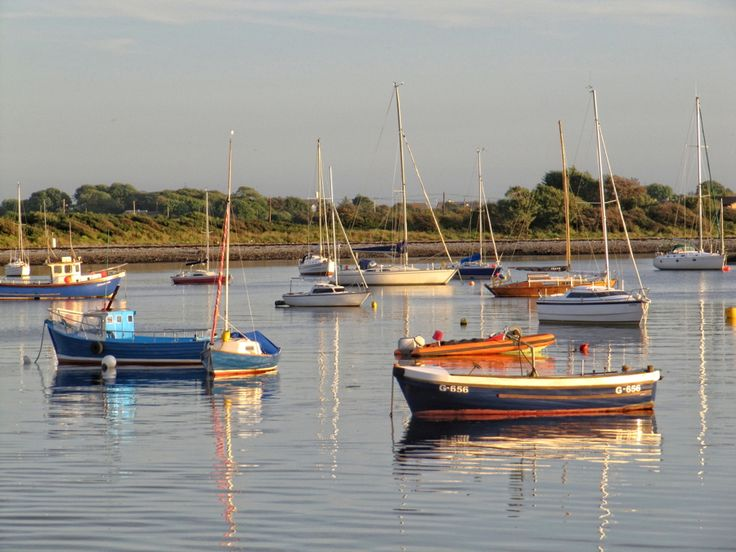 Boats at Renville, Oranmore #photographs #landscapephotographs #irishphotographs #landscape #daily #dailyphotographs