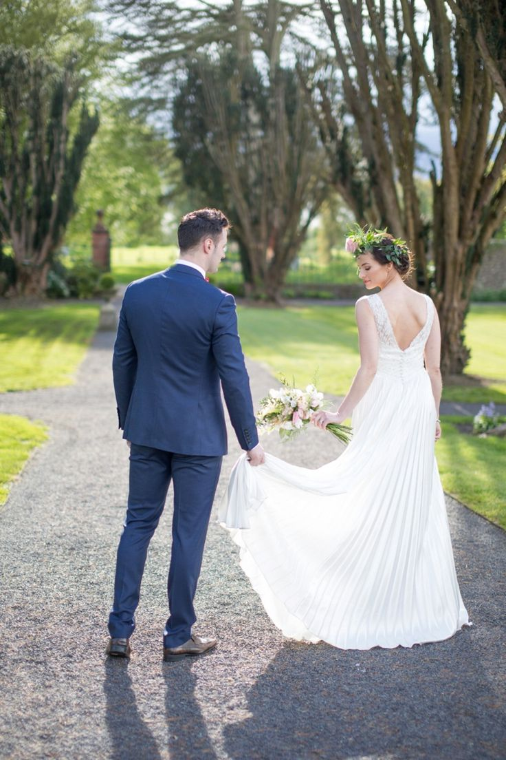 Irish Country Manor Wedding Inspiration